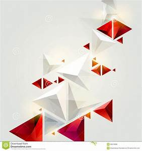 Red And White Triangles Royalty Free Stock Photos - Image ...