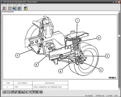 ford mustang 1997 1998 1999 manual de reparacion y taller