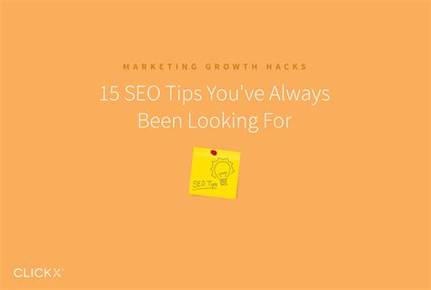 Seo Tips You Always Been Looking For Clickx