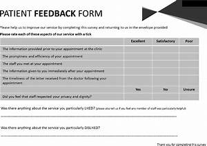 Figure 2 Patient Feedback Form For Virtual Clinic