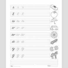 23 Best Images About Cursive Writing For Boy On Pinterest  Print Letters, Learning Letters And