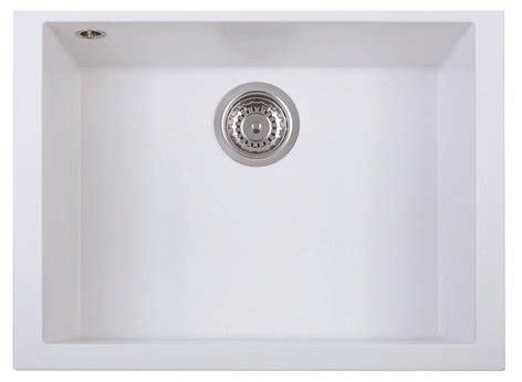 white kitchen sinks telma cube 60cm x 45cm undermount installation kitchen 1048