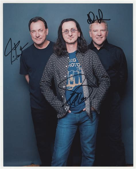 Lot Detail - Rush Signed Photograph