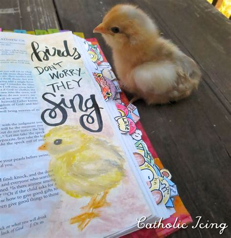 catholic bible journaling ideas and inspiration