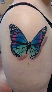 3d Butterfly Tattoos For Women | www.pixshark.com - Images ...