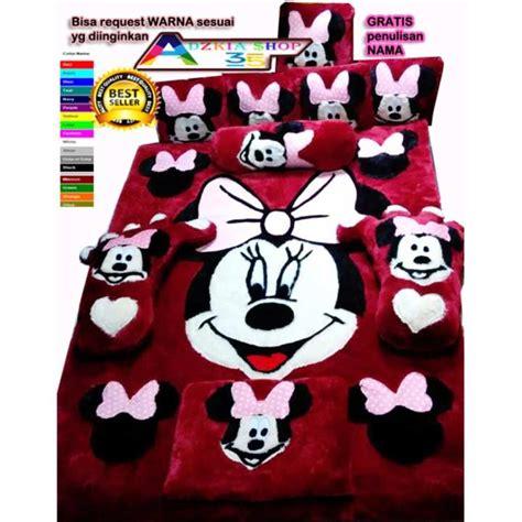 Karpet Karakter Mickey karpet bulu rasfur karakter mickey standart untuk
