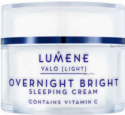 lumene overnight bright sleeping cream illuminating