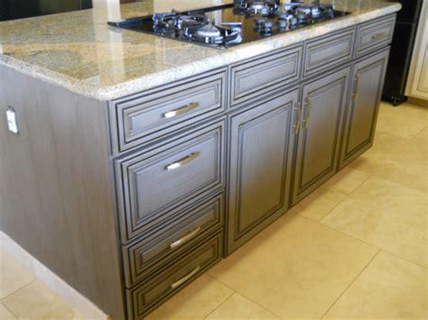 antique gray kitchen cabinets grapevine cabinets a unique gray cabinet finish 4090