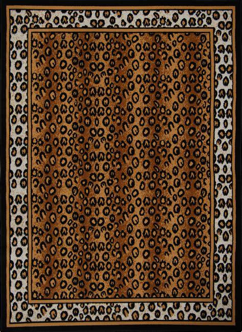 leopard print rug modern leopard animal print area rug 8x11 zebra safari