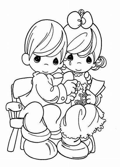 Coloring Precious Moments Tears Pages Joy Printable