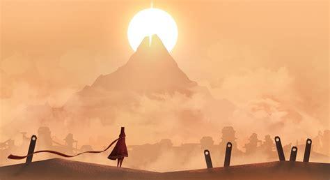 wallpaper  px journey game landscape