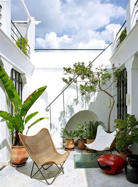 patio maison idees deco pour cour interieure
