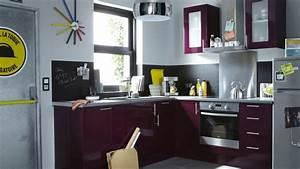 Idée Aménagement Petite Cuisine : idee petite cuisine ide pour une petite cuisine ouverte ~ Dailycaller-alerts.com Idées de Décoration