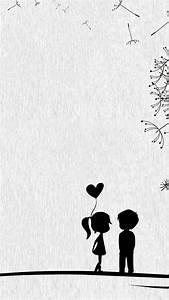 Cute Sweet Love Little Couple HD Wallpaper #7378