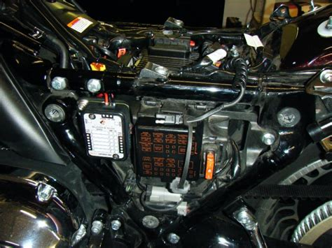 auxiliary fuse block  egc page  harley davidson forums