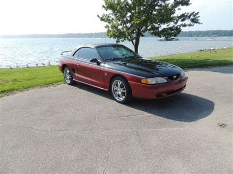 Find Used 1996 Mustang Convertible Custom Paint, Tires And