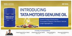 IBB Blog : Tata Motors launches Genuine Oil for Entire ...