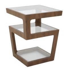 Black Bar Cabinet by Triple Level Side Table Walnut Dwell
