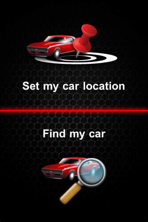 Find My Car Apps For Iphone by Find My Car Iphone Application