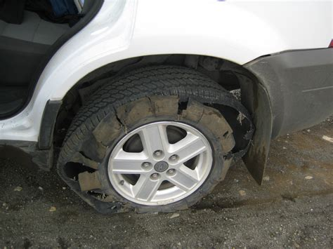 Can You Drive On A Flat Tire?