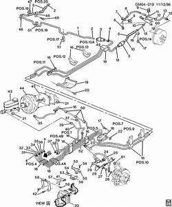 1996 Buick Park Avenue Base Brake Hoses  U0026 Pipes