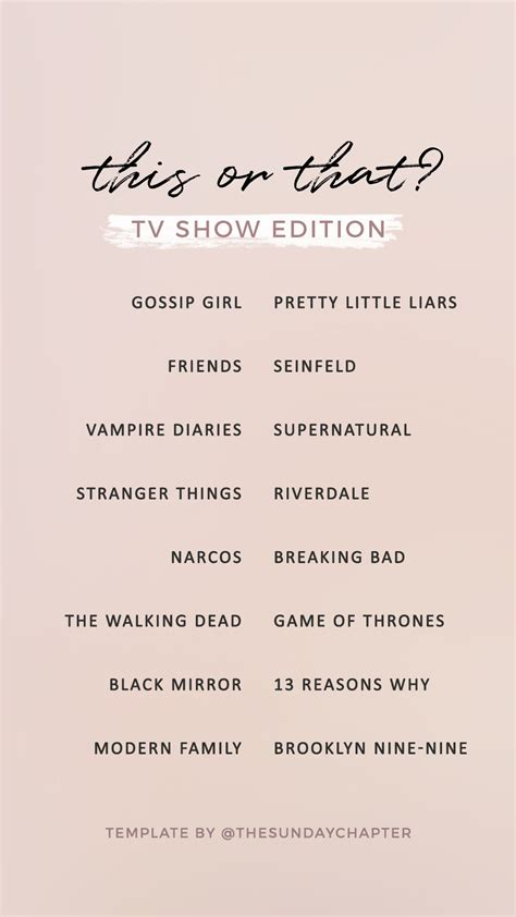 tv show   instagram story template templates
