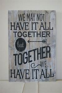 Wood Quote Sign... Plank Art Quotes