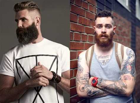 Brutal Beards & Mens Hairstyles 2018   Hairdrome.com
