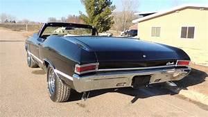 68 Chevelle Black Convertible