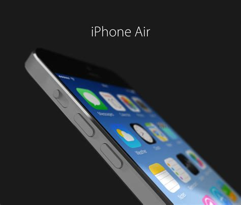 iphone air designer shows stunning 4 7 inch iphone air concept