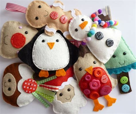 1000 ideas about sewn christmas ornaments on pinterest