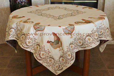 french jacquard table runner rooster french jacquard woven tapestry tablecloth