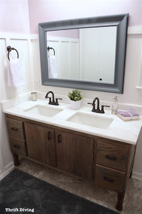masterbath vanities how to build a 60 quot diy bathroom vanity from scratch