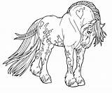 Coloring Horse Pages Draft Shire Flower Unicorn Printable Popular Getcolorings Getdrawings Axialentertainment sketch template