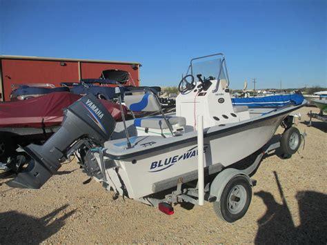 Boat Motors San Antonio by 2006 Blue Wave 160 16 Foot Blue 2006 Motor Boat In San