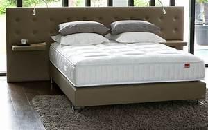 Tete De Lit Avec Tablette : tete de lit avec chevet ~ Teatrodelosmanantiales.com Idées de Décoration