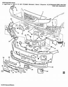 2008 Chevy Silverado Body Diagram