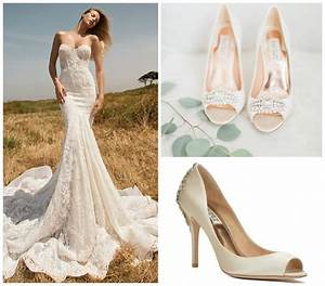 Best shoes for mermaid wedding dress style guru fashion for What shoes to wear with wedding dress