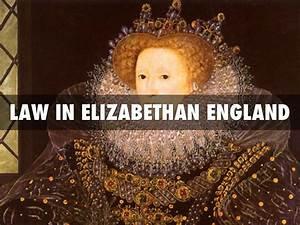 Elizabethan Law By Thomas Beck