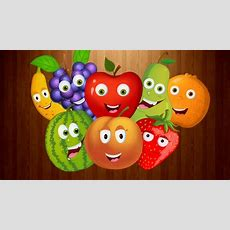 Fruits Song  English Rhymes Learning For Kids  Fruit Songs For Children  Preschool Learning