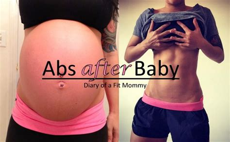 abs  baby workout program diary   fit mommy