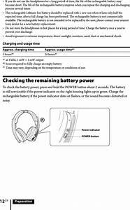 Sony Mdrrf6500 Wireless Stereo Headphones User Manual
