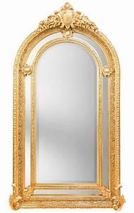 Miroir Baroque Argenté : tr s grand miroir baroque dor de style napol on iii royal art palace international ~ Teatrodelosmanantiales.com Idées de Décoration