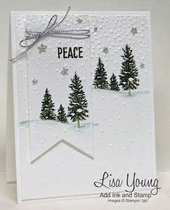 Schneelandschaft Selber Basteln : winterkarte schneelandschaft weihnachten karten karten basteln und weihnachtskarten ~ A.2002-acura-tl-radio.info Haus und Dekorationen
