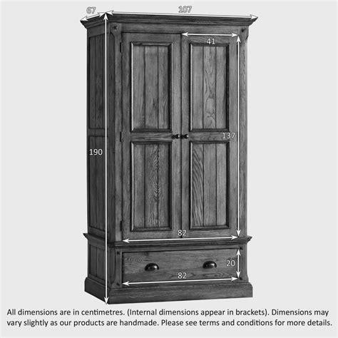 manor house double wardrobe  solid oak oak furniture land