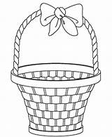 Basket Easter Coloring Empty Gift Drawing Template Pages Egg Getdrawings Print Sketch Designs Templates Coloringpagebook Advertisement sketch template