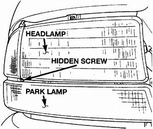 I Would Like To Know How To Remove The Headlight Assembly