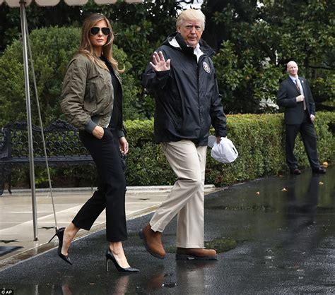 Melania Trump Bomber Jacket - Melania Trump Outerwear Looks - StyleBistro