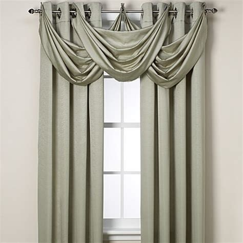 Insola Insulated Drapery by Buy Insola 174 Odyssey Insulating Waterfall Window Valance In