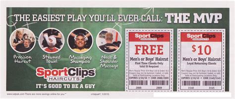 Sport Clips Men's Haircut (free Haircut For 1st Time